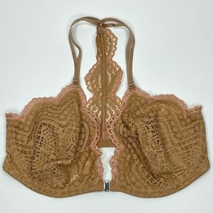 Free People NWT Nude Slow Dance Underwire Bra 32DD